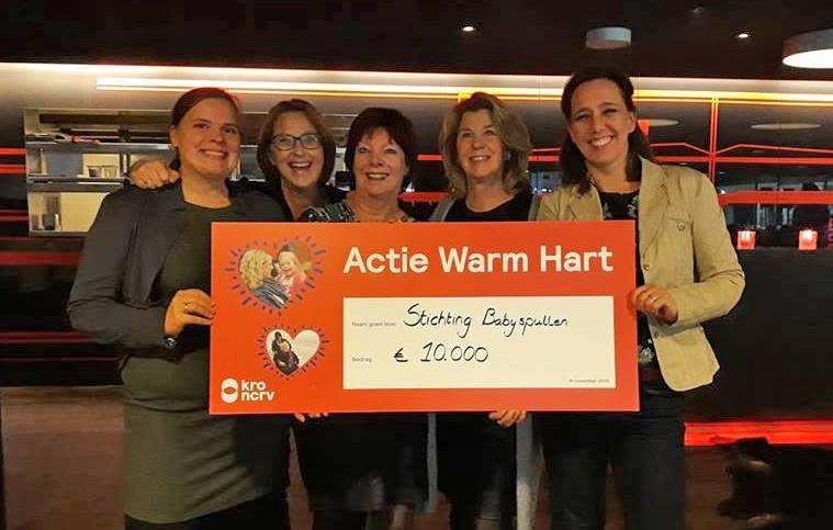 Actie Warm Hart Stichting Babyspullen