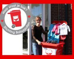Stichting Babyspullen Vrijwilliger Claudia Vermeulen Waar Staat Je Bak Inzamelen