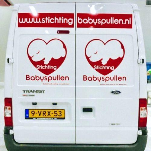 Transport En Donaties – Stichting Babyspullen