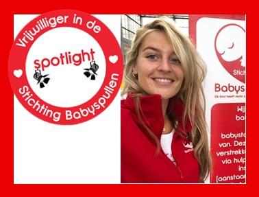 Vrijwilliger In De Spotlight:    Daniëlle Man