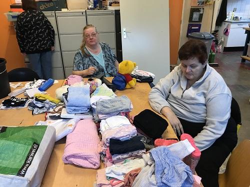 Voorsorteerlocatie Stichting Babyspullen