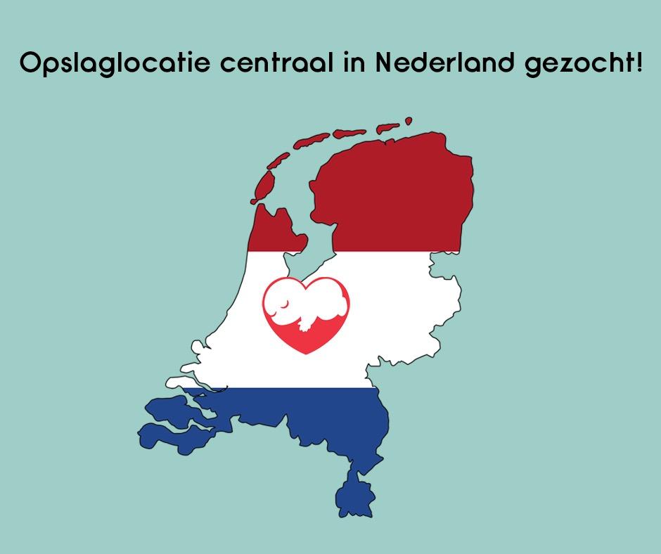 Help Ons Helpen! Opslaglocatie Centraal In Nederland Gezocht